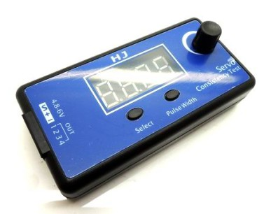 HJ Digitale Servo Tester ESC Consistency Tester for RC Elicottero