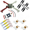 4-axis flight suits 450 Rack + Motor + ESC + Propeller